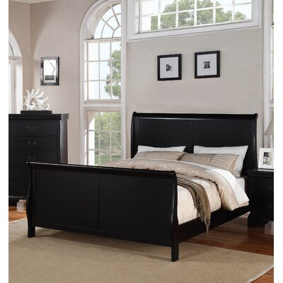 Venice Sleigh Bed Size: California King