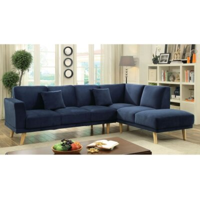 Sectional Upholstery: Navy