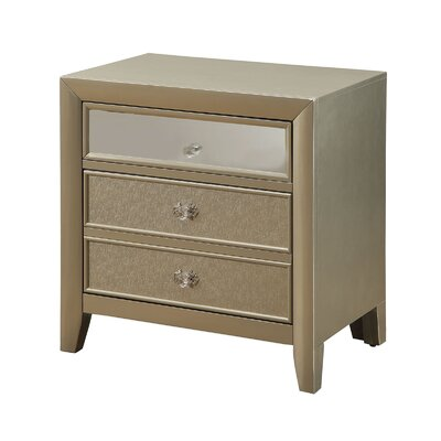 Ashmont 3 Drawer Nightstand
