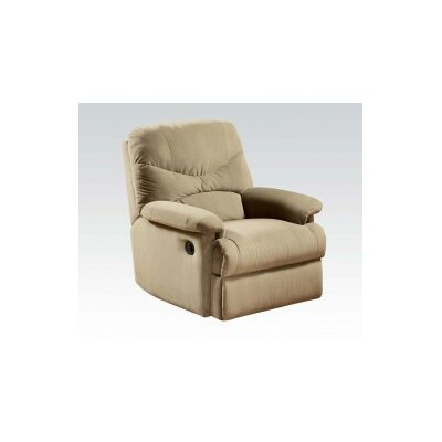 Sage Recliner Upholstery: Beige