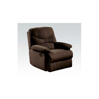 Sage Recliner Upholstery: Brown