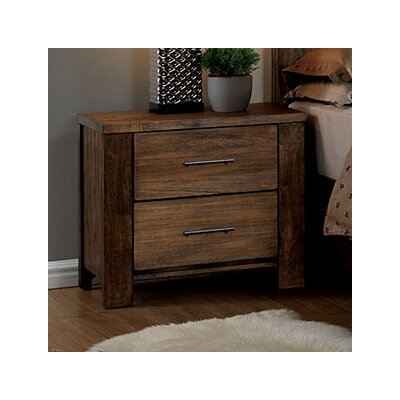 Brookdale 2 Drawer Nightstand
