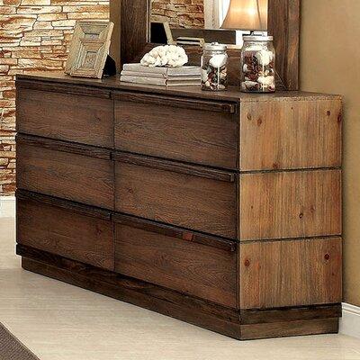 Anita 6 Drawer Dresser