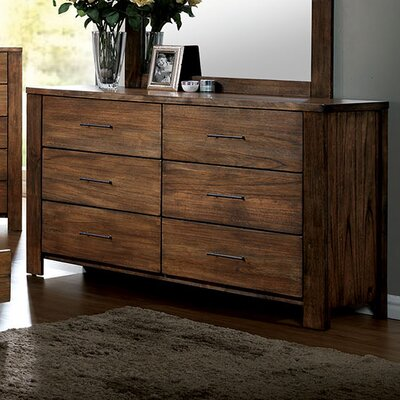 Brookdale 6 Drawer Dresser