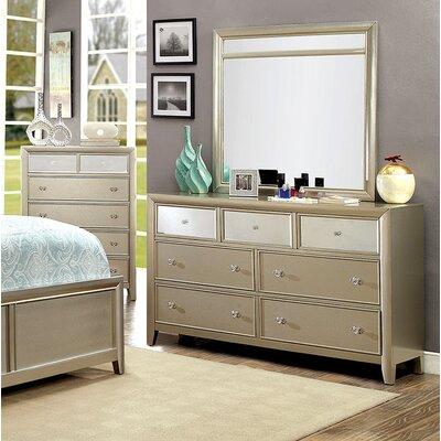 Ashmont 7 Drawer Dresser with Mirror