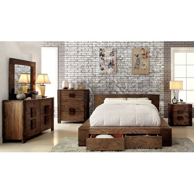 Joan Platform Configurable Bedroom Set