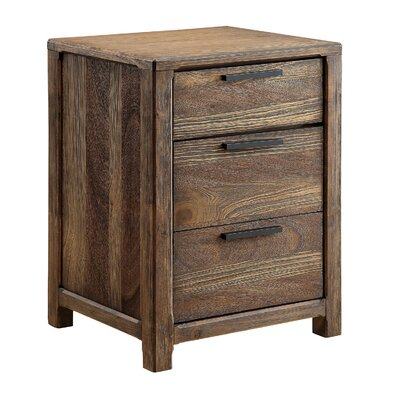 Natalie 3 Drawer Nightstand