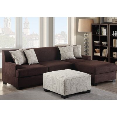 Janine Sectional  with Ottoman