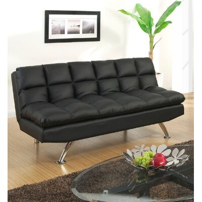 Montecito Adjustable Sofa Upholstery: Black