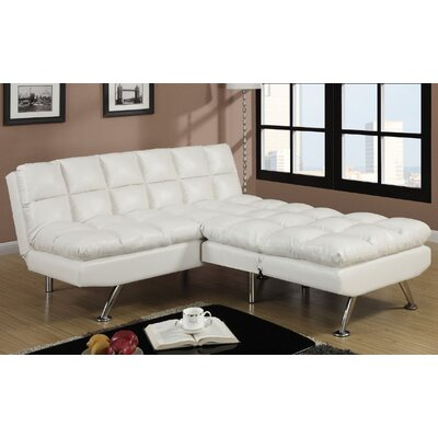 Montecito Adjustable Sofa and Chair Upholstery: White