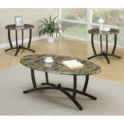 Cazadol 3 Piece Coffee Table Set