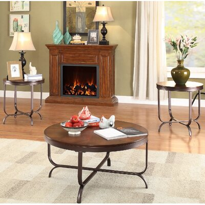 El Paso 3 Piece Coffee Table Set