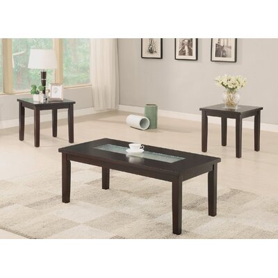 Foley 3 Piece Coffee Table Set