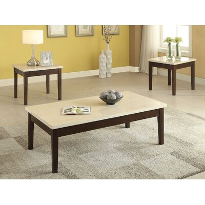 Libra 3 Piece Coffee Table Set