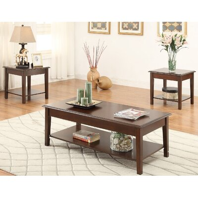 Hillwood 3 Piece Coffee Table Set