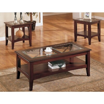 Sherwood 3 Piece Coffee Table Set
