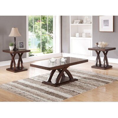 Lyman 3 Piece Coffee Table Set