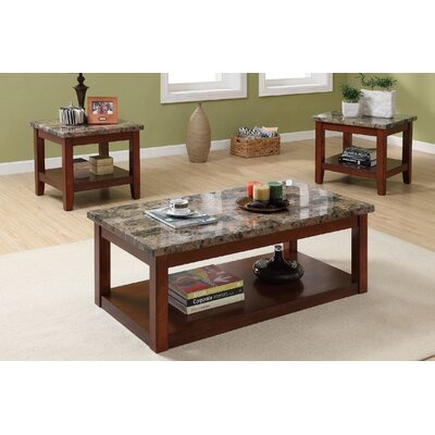 Hudson 3 Piece Coffee Table Set