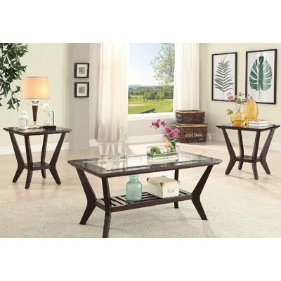 San Luis 3 Piece Coffee Table Set