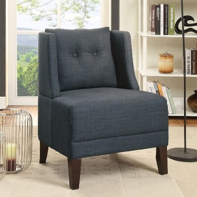 Russell Armchair Upholstery: Blue