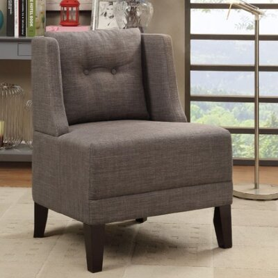 Russell Armchair Upholstery: Brown