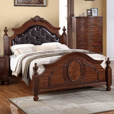 Dunton Upholstered Panel Bed Size: California King