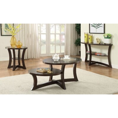Eubank 3 Piece Coffee Table Set