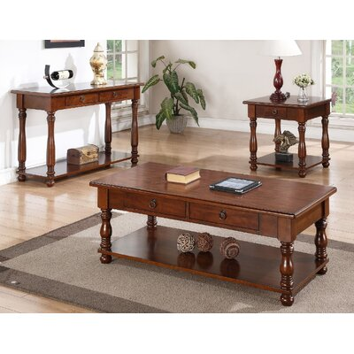 Neptune 3 Piece Coffee Table Set