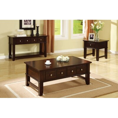 Narbonne 3 Piece Coffee Table Set
