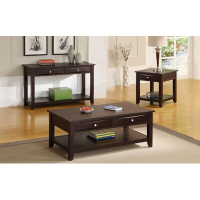 Nadine 3 Piece Coffee Table Set