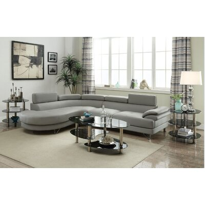 Parras Sectional Upholstery: Gray