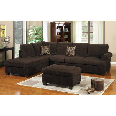 Harriman Sectional Sofa and Ottoman Set