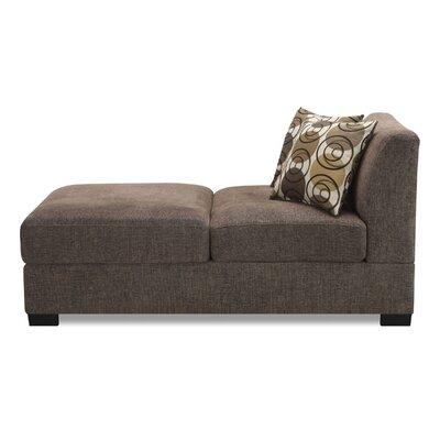 Arroyo Chaise Lounge Upholstery: Slate