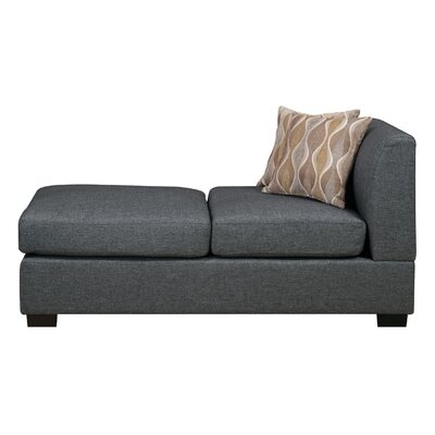 Trampoline Chaise Lounge Upholstery: Gray