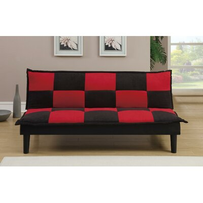A&J Homes Studio ZD-7WF0A0J1BRED Ventura Adjustable Sleeper Sofa