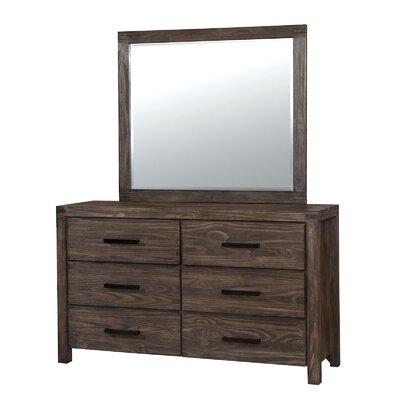 Rexburg 6 Drawer Dresser