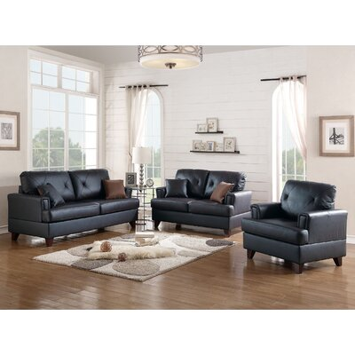 A j homes studio bethany 3 piece leather living room set for 3 piece living room set cheap
