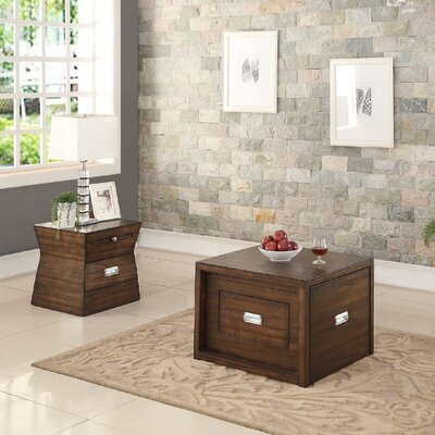 Catalina 2 Piece Coffee Table Set