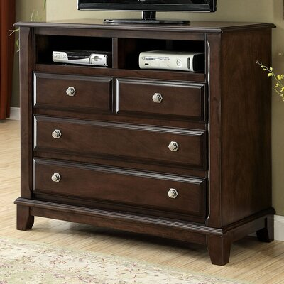 Litchville 4 Drawer Media Chest