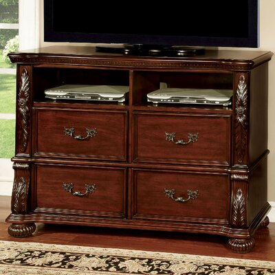 Flandreau 4 Drawer Media Dresser