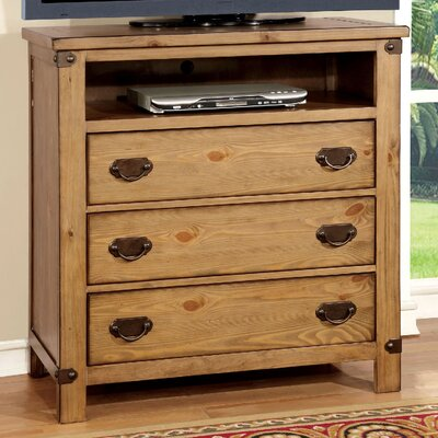 Avantgarde 3 Drawer Media Chest