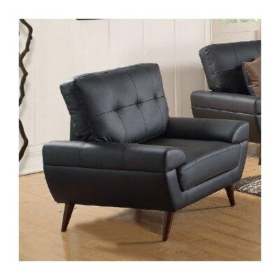Wintersburg Arm Chair Upholstery: Black