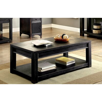 Bensen Coffee Table with Magazine Rack