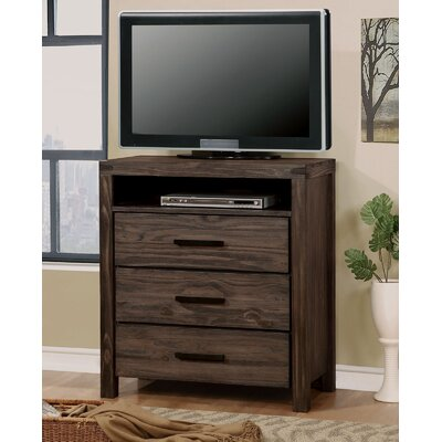 Rexburg Media 3 Drawer Chest