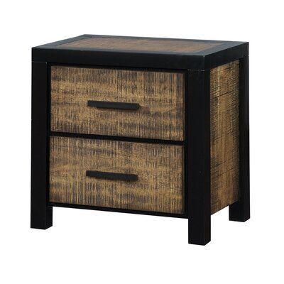 Hamberg 2 Drawer Nightstand