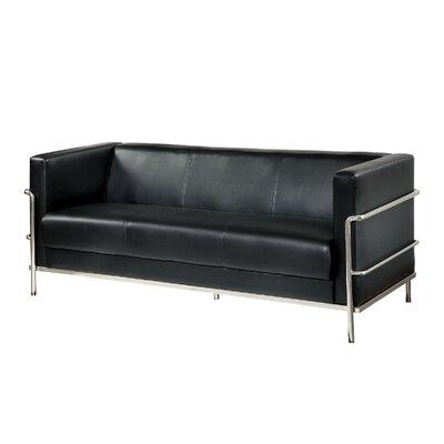 Leifur Sofa Upholstery: Black