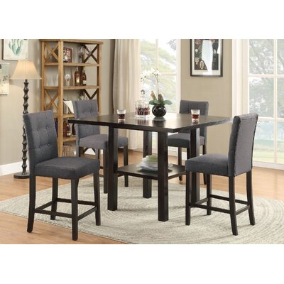 Lauritsen 5 Piece Counter Height Dining Set