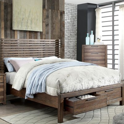 Hankinson Storage Platform Bed Size: King