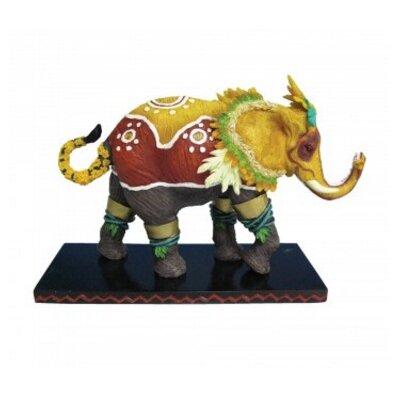 Colonial Elephant Figurine ZD-HGWF8A3J1GRY