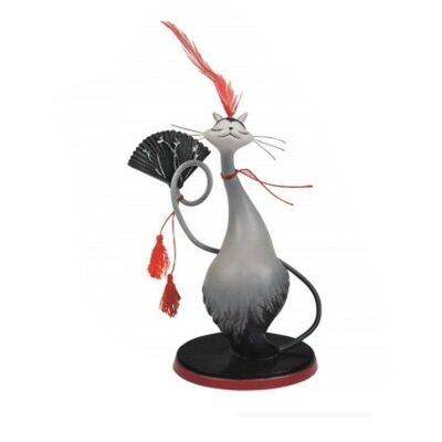 Hunsaker Cat Figurine ZD-HGWF5A5J2GRY